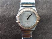 OMEGA WATCH Lady's Wristwatch 1362.30 LADIES CONSTELLATION S/S AND 18K